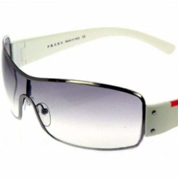 PRADA Sport Sunglasses SPS52E white unisex